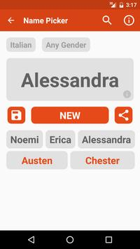 Name Picker apk screenshot