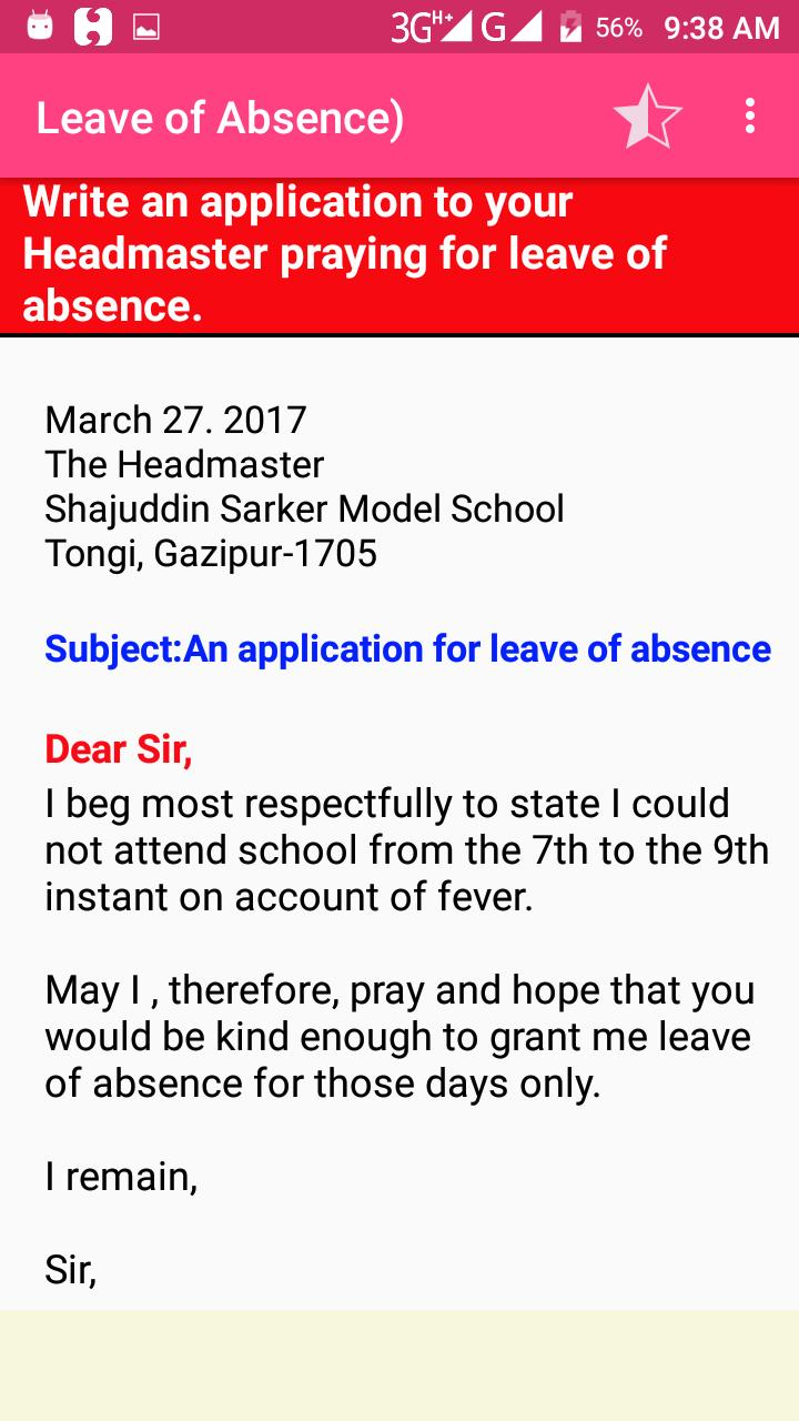 Letter & Application for Android - APK Download