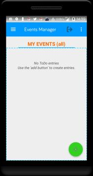 Events Manager® screenshot 1
