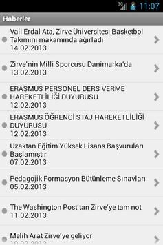 Zirve Üniversitesi screenshot 3
