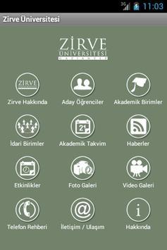 Zirve Üniversitesi poster