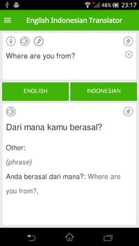 English Indonesian Translator 포스터
