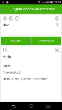 English Indonesian Translator скриншот 2
