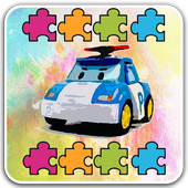 World Puzzle Robocar Happy Jigsaw icon