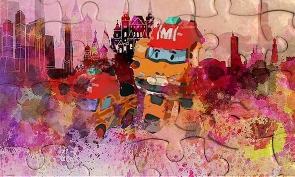 World Puzzle Robocar Happy Jigsaw screenshot 2