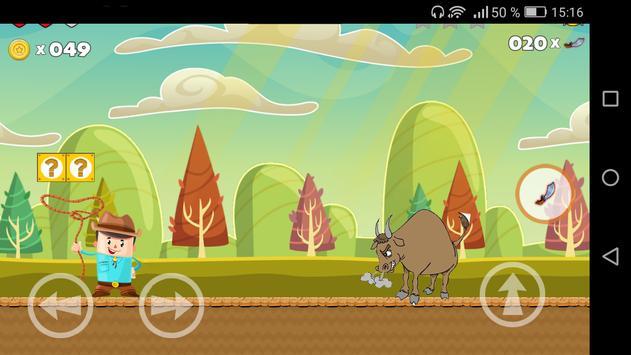 Branco Bull  Bloncky Run screenshot 3