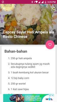 Resep Capcay Sayuran Sederhana screenshot 2