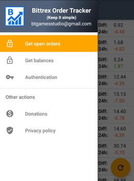Bittrex Order Tracker for Android - APK Download
