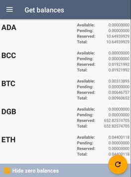 Bittrex Order Tracker screenshot 2