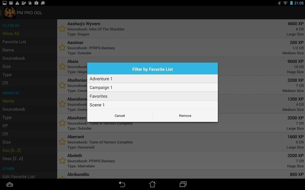 Pathfinder Monsters OGL for Android - APK Download