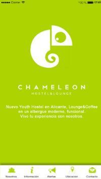Chameleon Hostel poster