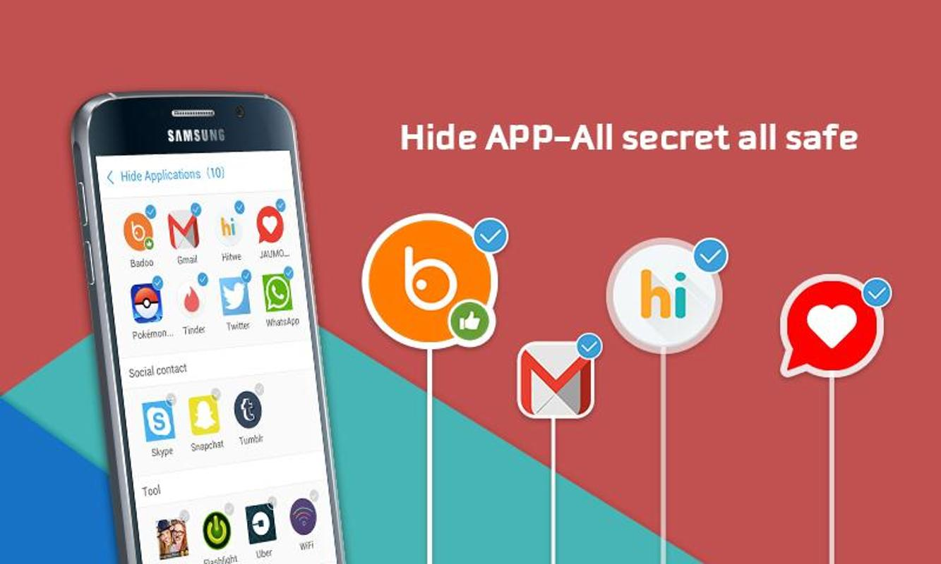 Hide app private dating safe chat - privacy hider pro