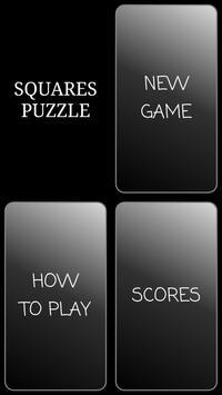 Squares Puzzle poster
