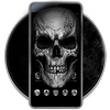 Black Death Skull Theme-icoon