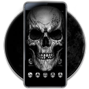 Black Death Skull Theme-APK