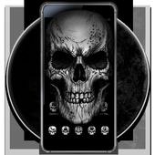 Black Death Skull Theme icon