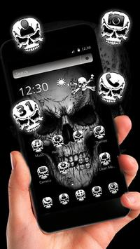 Black Death Skull Theme screenshot 9