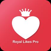 Royal Likes Pro Instagram icon