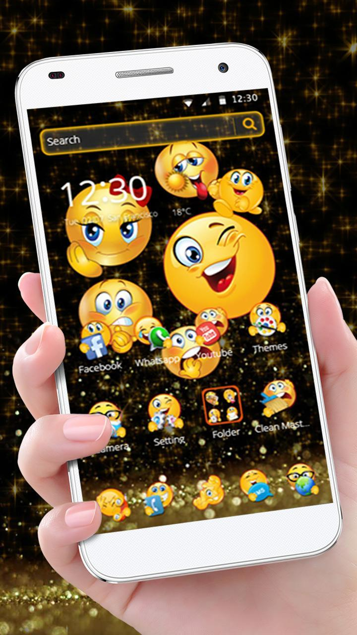 Tema Emoji Emoji Hitam For Android Apk Download