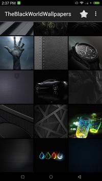 Black Wallpapers UHD screenshot 5