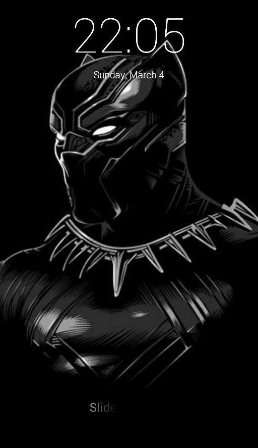 Black Panther Lock Screen For Android Apk Download