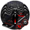 Red Black Spider Theme icon