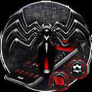 APK Tema Red Black Spider