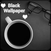 Black Wallpaper QHD Lock Screen icon