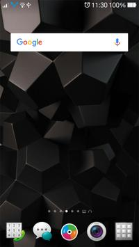 Black Wallpaper QHD Lock Screen screenshot 6