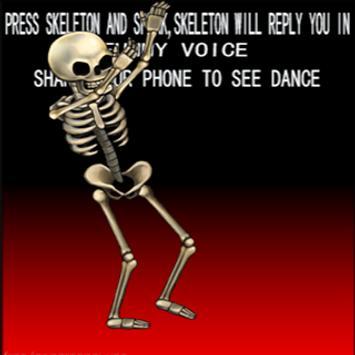 Talking  Skeleton poster