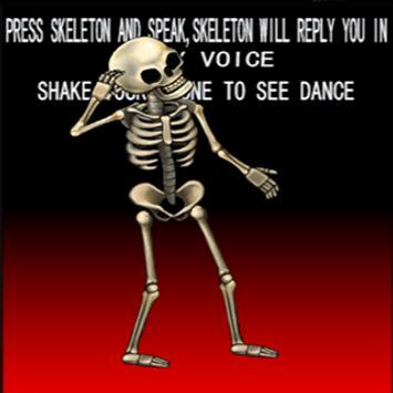 Talking  Skeleton screenshot 1
