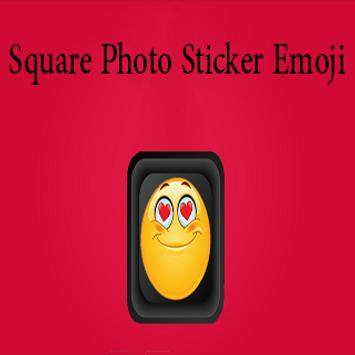 Square Photo Sticker Emoji screenshot 2