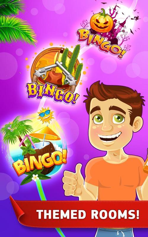 Tropical bingo game