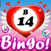 Bingo St. Valentine's Day icon