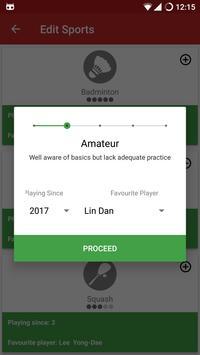Backhand Badminton & Tennis apk screenshot