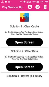 Play Services Update 截图 2