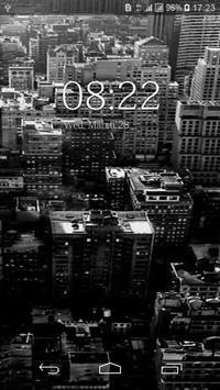 Black And White Floral HD Wallpaper screenshot 2