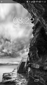 Black And White Floral HD Wallpaper screenshot 3
