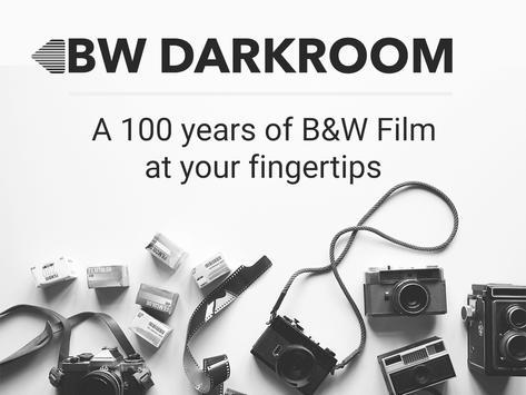 Black and white photo editor premium 35mm film screenshot 8