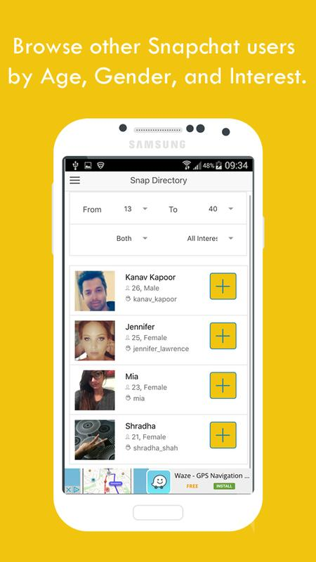 how to write more on snapchat android
