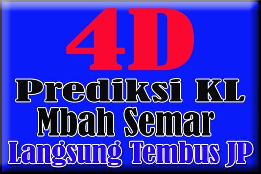 Prediksi KL 4D Mbah Semar poster