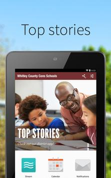 Whitley County Cons Schools poster