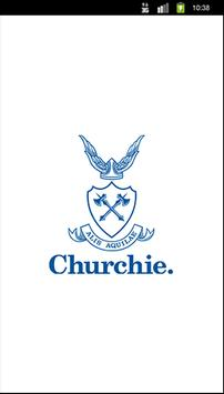 Churchie. poster