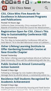 Chico State apk screenshot