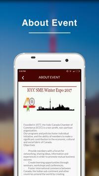 ICCC SME Winter Expo 2017 APP screenshot 3