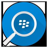 BlackBerry Device Search icon