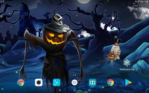 Spooky Halloween Live Wallpaper screenshot 3