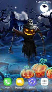 Spooky Halloween Live Wallpaper screenshot 1
