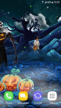 Spooky Halloween Live Wallpaper screenshot 2