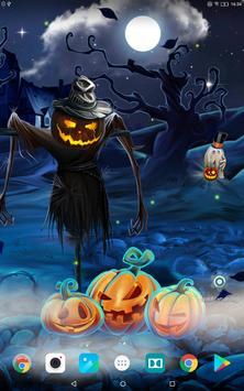 Spooky Halloween Live Wallpaper screenshot 4